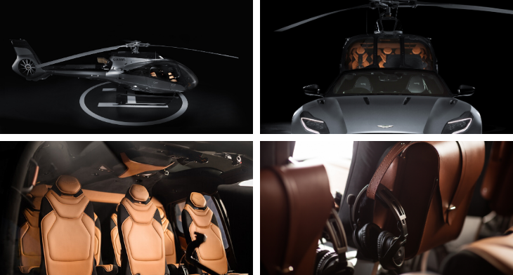 Inflight Aston Martin Lagonda And Airbus Corporate Helicopters Reveal Fruits Of New Partnership